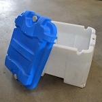 TWIN GOLF CART BATTERY BOX