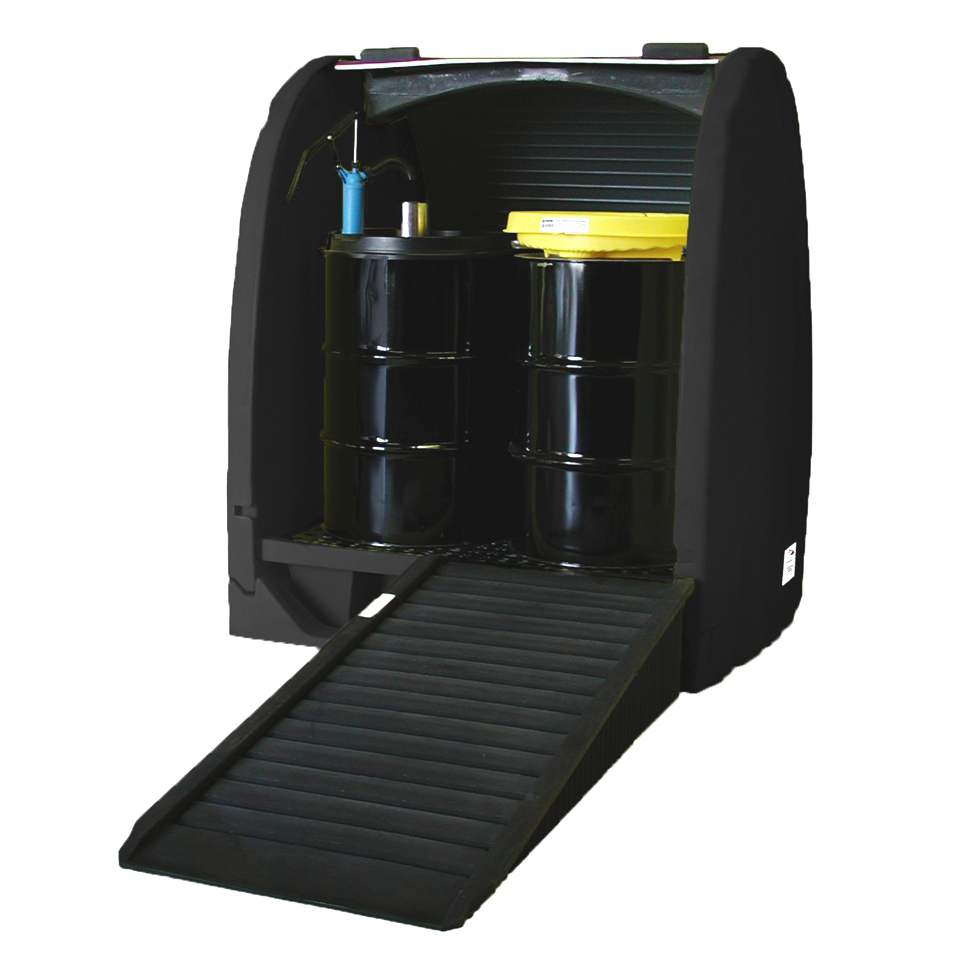 Standard Regulation BD Drum Storage with Containment