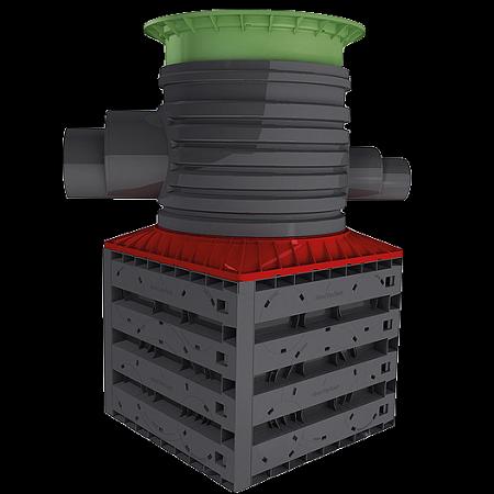 Graf Vario Flex Shaft System For Ecobloc Barr Plastics Inc