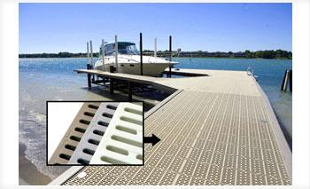 Plastic Decking Prices >> Dock Floats, Hardware & Building Components | Custom Dock Kits | BARR Plastics Inc.