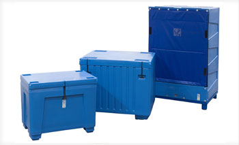 Dry Ice Storage Bins, Totes & containers, Chest & Upright styles available at BARR Plastics