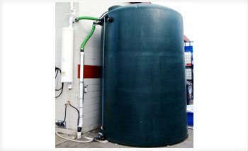 Rainwater tanks ranging up to 15,000 gallons! Variety of collection systems to seamlessly integrate with your existing drainage, at BARR Plastics
