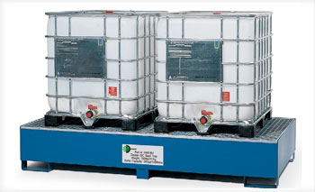 Cage Tote Spill Containment Solutions at BARR Plastics