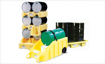 Poly Drum Containment & Stacking Solutions at BARR Plastics
