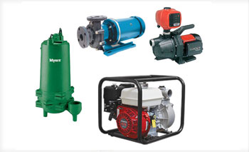 Gas and electric powered water, chemical, sewage & effluent transfer pumps at BARR Plastics