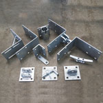 Galvanized Steel Dock Hardware