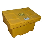 Yellow SOS Bin for Sand, Salt and/or Spill Control
