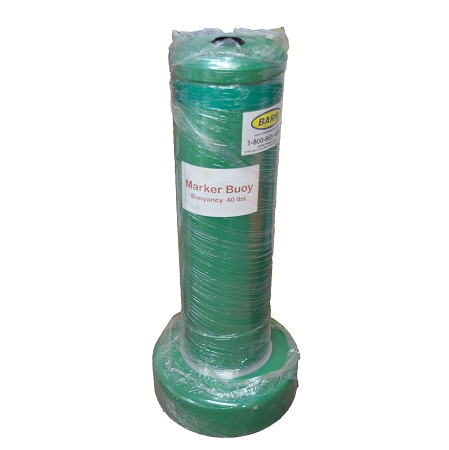GREEN CAN MARKER BUOY