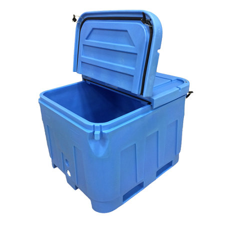 Split Lids for Promens D & DX Series Bins