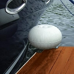 Inflatable Dock Wheel Bumper Guides