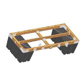 Diy wooden frame dock building kit barr plastics inc diy wooden frame dock building kit solutioingenieria Gallery