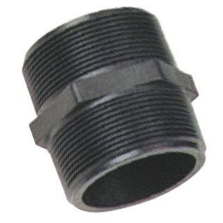 SCH 80 Poly Propylene Threaded Pipe Nipples