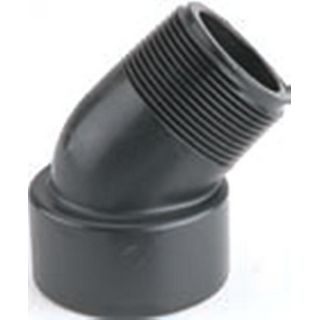 SCH 80 Polypropylene Threaded 45° Street Elbows