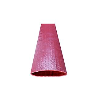 Red PVC Layflat Discharge Hose