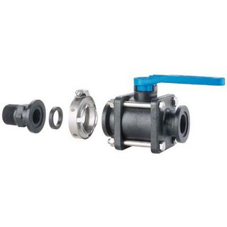 2-Way Flange Connect Ball Valves