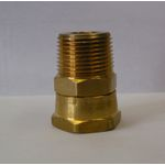 Brass MPT x FGHT Swivel