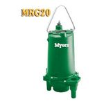 Myers MRG20 Series Submersible Sewage Grinder Pump