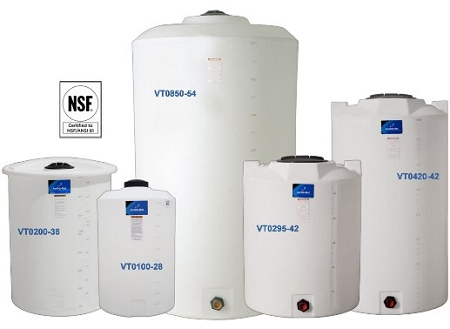 Flat Top Vertical Storage Tanks