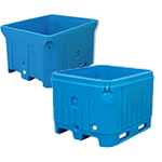 Saeplast Fish Totes, Live Transport Containers & Insulated Double Wall Bins