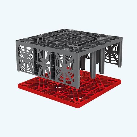 Graf ecobloc flex stormwater block barr plastics inc for Graf custom homes