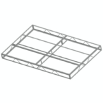 Galvanized Steel Dock Frame Sections & Hardware