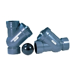 PVC Y Check Ball Valves