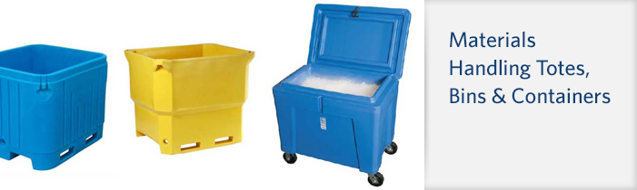 Materials Handling Totes, Bins & Containers at BARR Plastics in Abbotsford