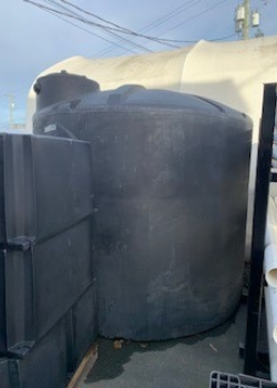 2500 USG Dome Top Vertical Storage Tank