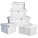 Fibreglass & Polyethylene Dock Boxes