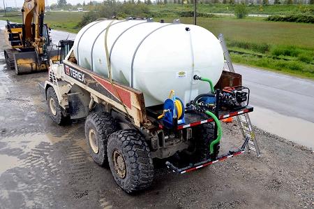 Dust Control Spray Applicator Systems Barr Plastics Inc