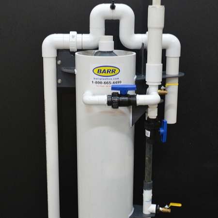 Custom PVC Fabrication & Fume Ducting   BARR Plastics Inc