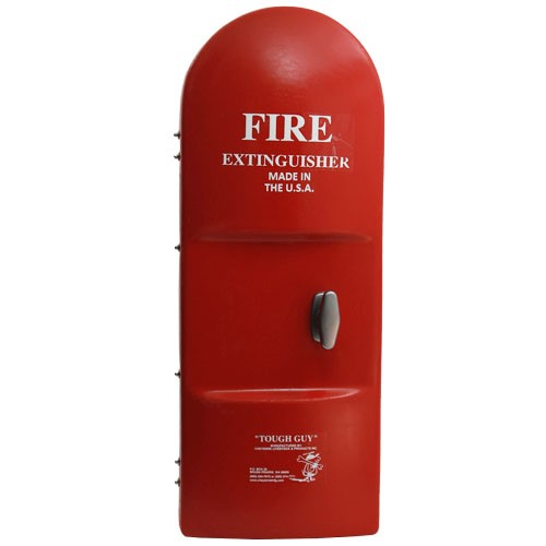 """TOUGH GUY"" Fiberglass Fire Extinguisher Cabinets"
