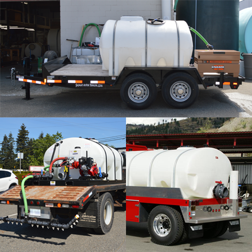 Custom Firefighting Trailers and Skids