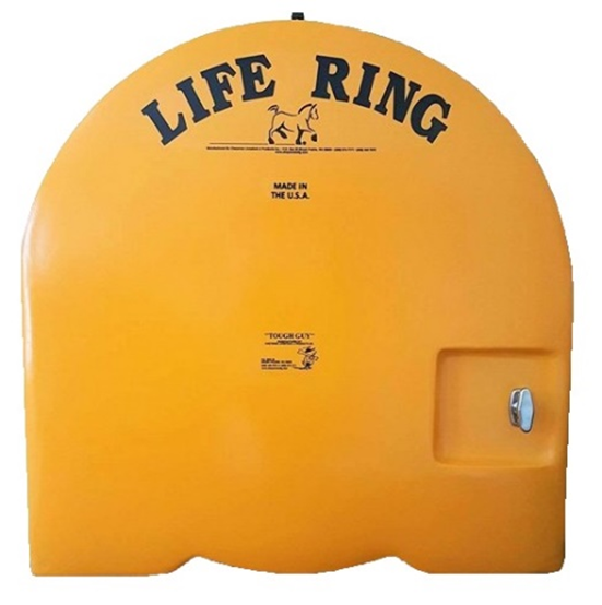"""TOUGH GUY"" Fiberglass Life Ring Cabinets"