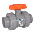 Pvc True Union 2-Way Ball Valves