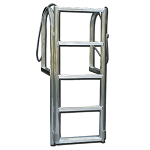 Aluminum Stationary Dock Lift Ladders