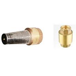 Brass Spring Check / Foot Valves