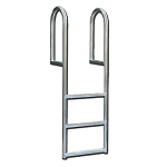 Straight Aluminum Dock Ladders